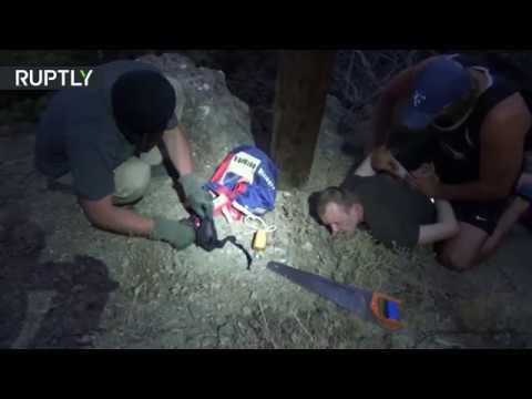 العرب اليوم - شاهد الأمن الروسي يلقي القبض على عميل لصالح أوكرانيا