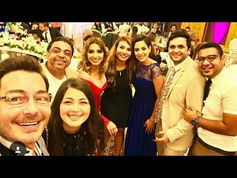 العرب اليوم - شاهد ليلى أحمد زاهر تغني مع تامر حسني