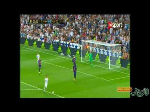 العرب اليوم - شاهد القائم يحرم فاسكيز من تسجيل الهدف الثاني في شباك برشلونة