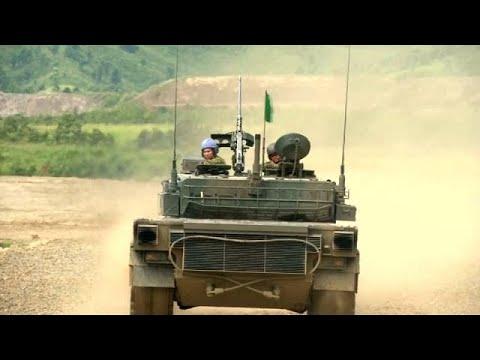 العرب اليوم - شاهد تدريبات عسكرية أميركيةيابانية في جزيرة هوكايدو