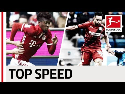 العرب اليوم - بالفيديو تعرف على أسرع 10 لاعبين في الدوري الألماني