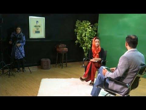العرب اليوم - شاهد زان تي في قناة تلفزيونية للنساء فقط في أفغانستان
