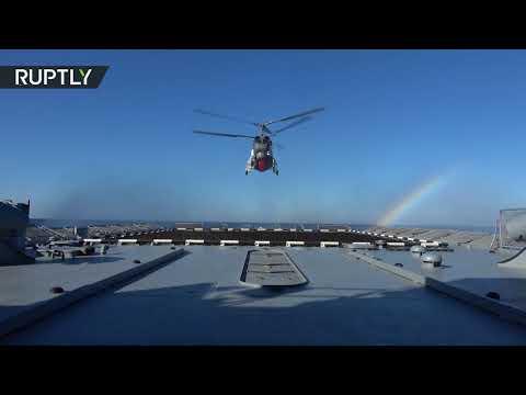 العرب اليوم - شاهد سير مناورات الغرب2017 في مياه بحر البلطيق