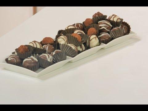 العرب اليوم - شاهد طريقة إعداد كرات الشوكولاتة