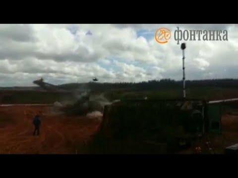 العرب اليوم - شاهد إصابة رجل خلال تدريبات عسكرية غرب روسيا