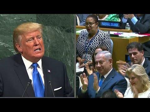 العرب اليوم - شاهد نتنياهو يؤكد أن خطاب ترامب هو الأكثر جرأة