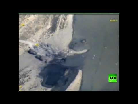 العرب اليوم - الطيران الروسي يقصف زوارق داعش في الفرات