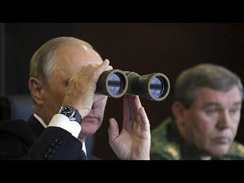 العرب اليوم - بوتين يشرف على عمليات إنزال جوي هي الأقوى منذ 2013