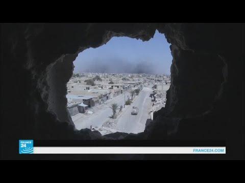 العرب اليوم - شاهد قوات سورية الديمقراطية تسيطر على 90 في المائة من الرقة