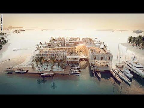 العرب اليوم - بالفيديو  دبي تبني مدينة البندقية الإيطالية على أراضيها