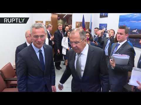 العرب اليوم - شاهد لافروف يبحث مع ستولتنبرغ آفاق العلاقات بين روسيا وحلف الناتو