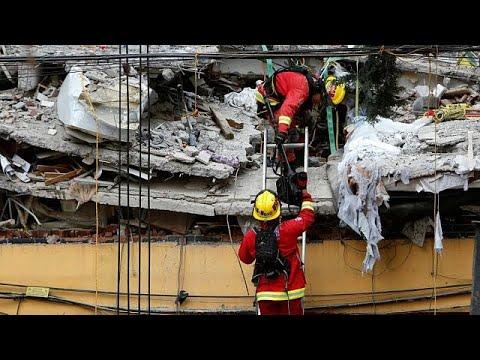 العرب اليوم - شاهد أسباب وقوع زلزال المكسيك المدمِّر