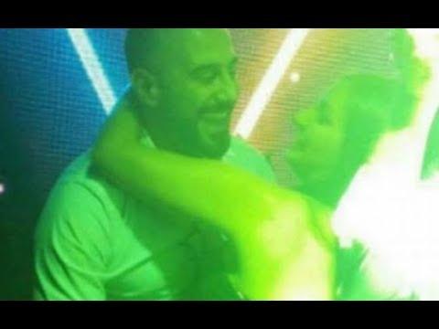 العرب اليوم - قصي الخولي يظهر مع فتاة مجهولة ويرقص معها