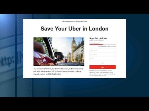 العرب اليوم - عريضة إلكترونية ضد سحب ترخيص أوبر في لندن