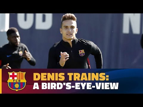 العرب اليوم - دينيس سواريز يتألق في تدريب برشلونة