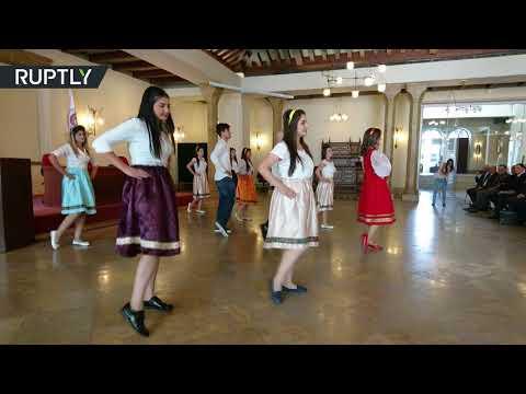 العرب اليوم - افتتاح المركز الروسي في جامعة دشمق