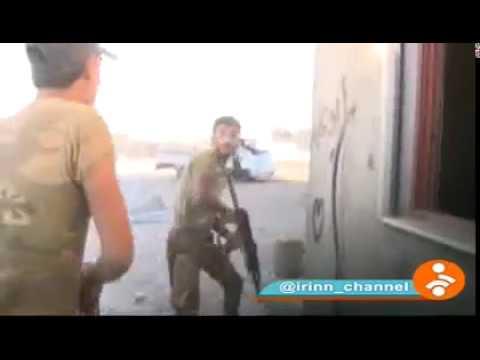العرب اليوم - شاهد فريق التلفزيون الإيراني يتعرّض إلى هجوم من قبل داعش