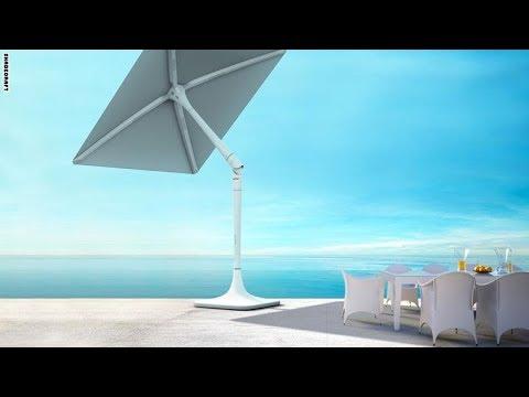 العرب اليوم - سان فلاور مظلة تتبع أشعة الشمس لتحميك منها