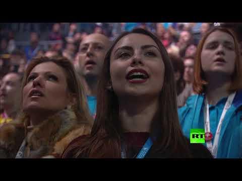 العرب اليوم - شاهد مراسم افتتاح المهرجان العالمي للشباب والطلبة