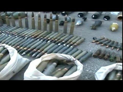 العرب اليوم - العثورعلى أسلحة إسرائيلية الصنع في حمص وحماة