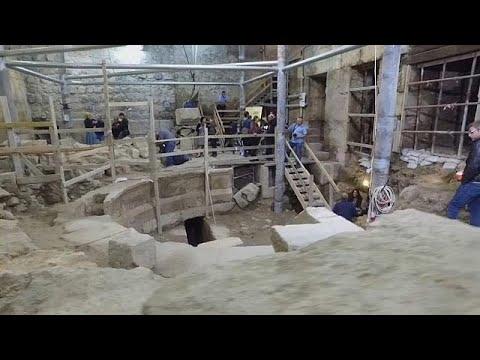 العرب اليوم - اكتشاف مسرح روماني تحت الأرض بالقرب من الأقصى