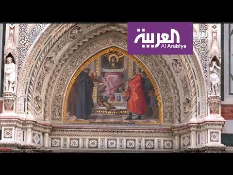 العرب اليوم - شاهد جولة داخل معرض أوفيزي في فلورنسا