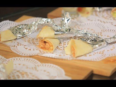 العرب اليوم - شاهد طريقة إعداد سندويتش رول دجاج بالعسل والباربكيو