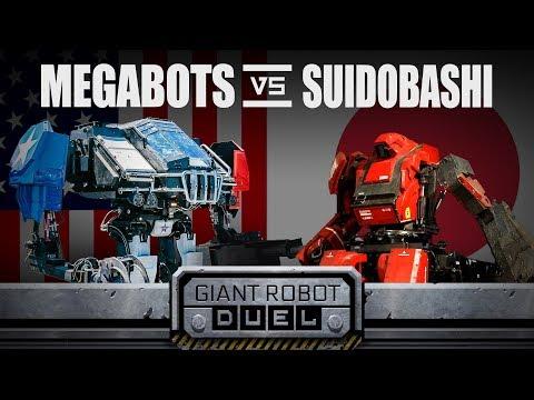 العرب اليوم - شاهد الولايات المتحدة تهزم اليابان في مسابقة الروبوتات العملاقة