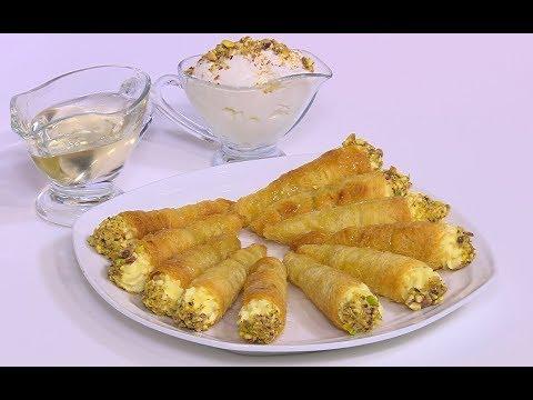 العرب اليوم - شاهد طريقة إعداد كون الكنافة