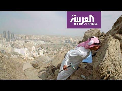 العرب اليوم - شاهد سرُ قبلة عيد اليحيى لصخرة مميّزة في على خطى العرب