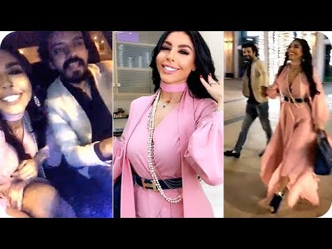 العرب اليوم - شاهد ليلى اسكندر بإطلالة رائعة وتغني مع زوجها يعقوب الفرحان