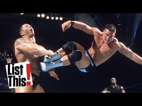 العرب اليوم - 6 حركات يفضلها جون سينا على حلبات المصارعة