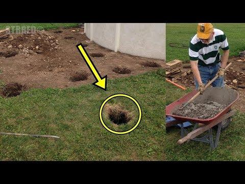 العرب اليوم - بالفيديو استهزءوا به جيرانه لعمله هذه الثقوب، وبعد شهور عبروا عن إعجابهم