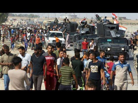 العرب اليوم - فرار نحو 100 ألف كردي من كركوك خشية المعارك