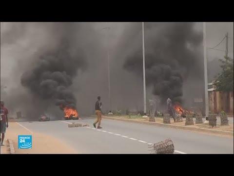 العرب اليوم - شاهد أعمال عنف في توغو وضحايا في المكان