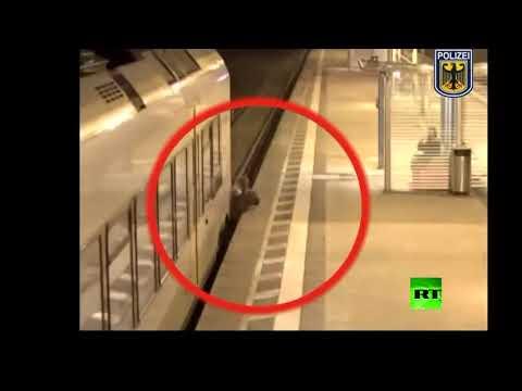 العرب اليوم - رجل ألماني ينجو بأعجوبة من الموت تحت عجلات قطار