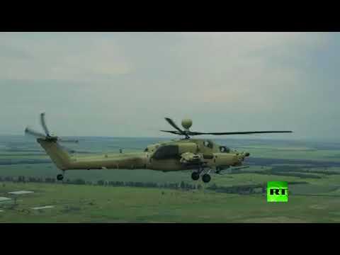 العرب اليوم - فيديو رائع تظهر فيه مروحية مي28 أو بي الروسية المتقدمة