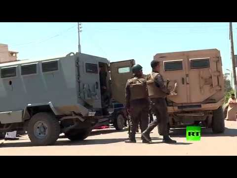 العرب اليوم - تواجد أمني مكثّف في موقع كمين الواحات جنوب غرب القاهرة
