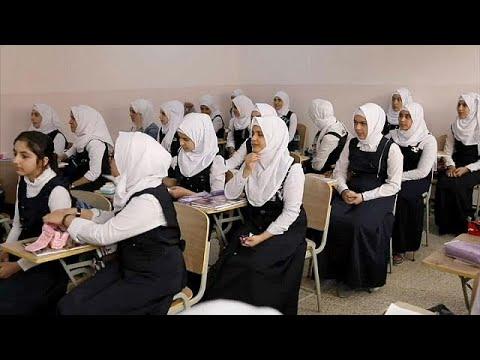 أبناء الانبار العراقية يعودون إلى المدارس
