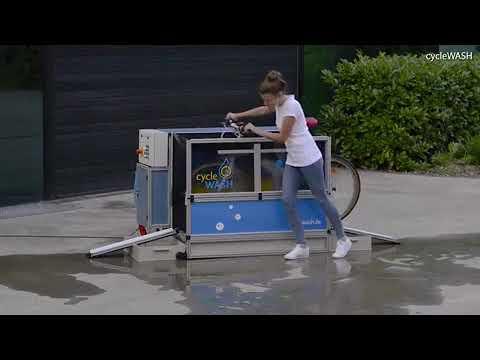 شاهد شوارع بريطانيا تستعد لاستقبال آلة غسيل الدراجات