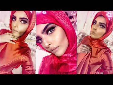 ساره الودعاني تكشف حقيقة فستانها المتغير اللون