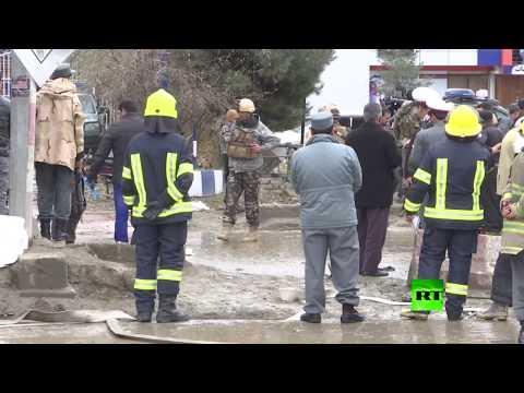 شاهد ارتفاع حصيلة التفجير الانتحاري في كابل إلى 18 شخصا