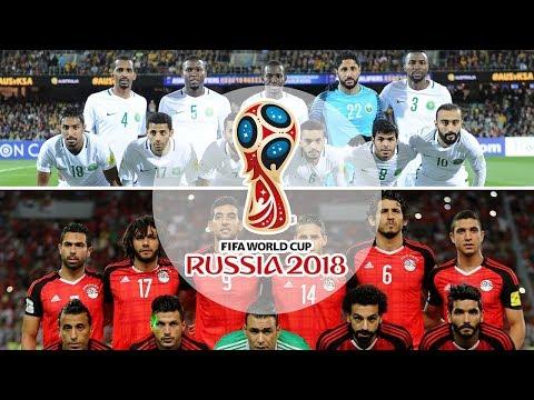 شاهد قائمة المنتخبات المتأهلة إلى كأس العالم 2018