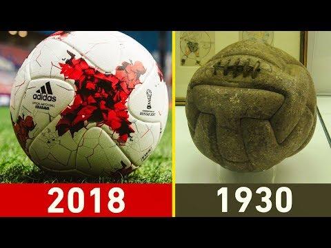 شاهد جميع الكرات التي استعملت في تاريخ كأس العالم