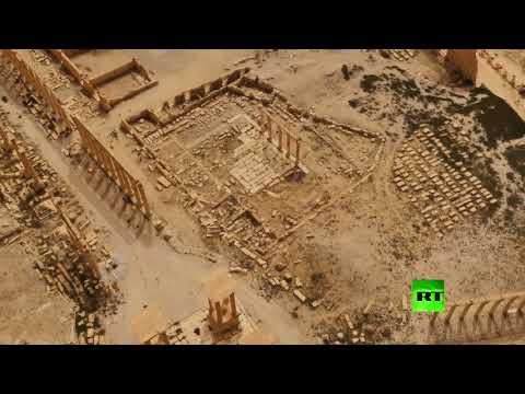 شاهد نموذج ثلاثي الأبعاد لمدينة تدمر هدية روسية لسورية