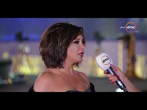 الفنانة الجميلة سلاف فواخرجي تُشيد بتنظيم مهرجان القاهرة
