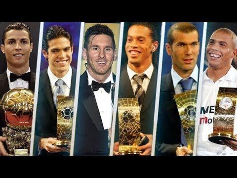الفائزون بجائزة أفضل لاعب في العالم خلال القرن الـ21