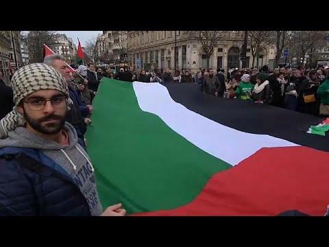 تجدد الاحتجاجات في باريس ضد قرار ترامب
