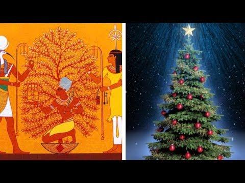 حكاية شجرة الكريسماس أسطورة قبل  المسيحية