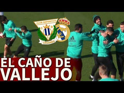 موقف طريف في تدريبات ريال مدريد